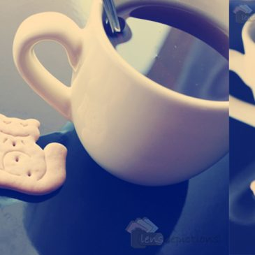 Animal cookies & a cup of tea!