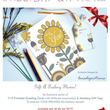 Free Printable Greeting Cards & Gift Tags! – Year End 2016