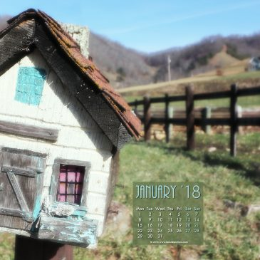 Journey Home – A Poem by Tagore & Jan 2018 Free Calendar/Wallpapers!