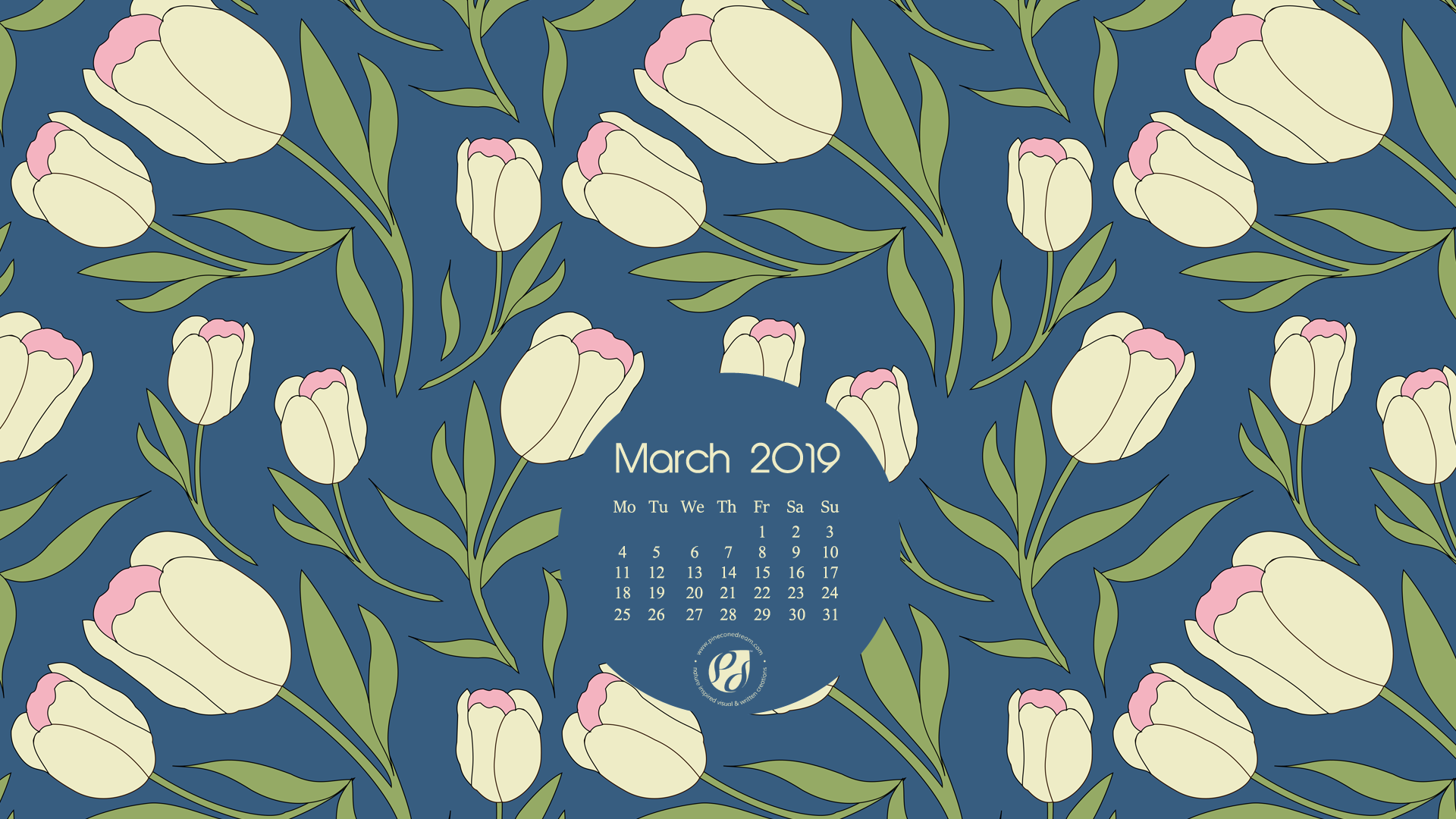 March 2019 Free Calendar Wallpapers Printable Planner