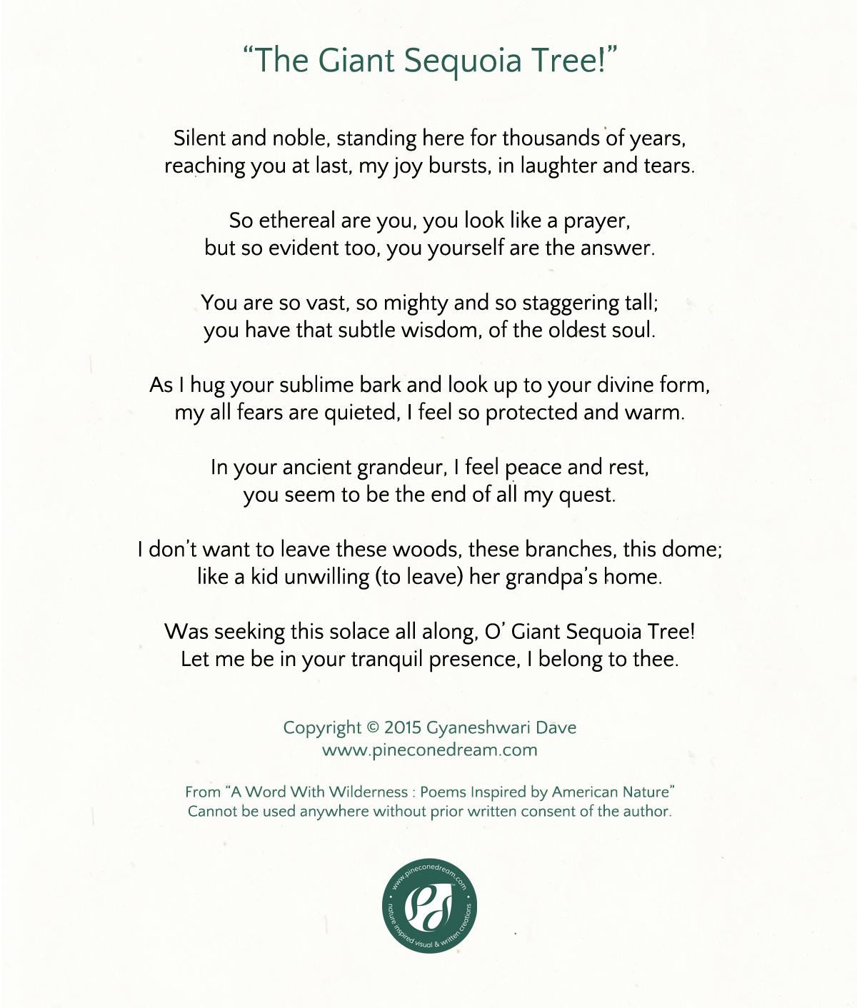 GyaneshwariDave_Poetry_GiantSequoia