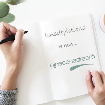 Lensdepictions is now Pineconedream!