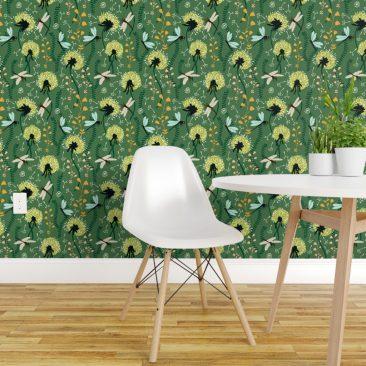 Dandelion Day Wallpaper