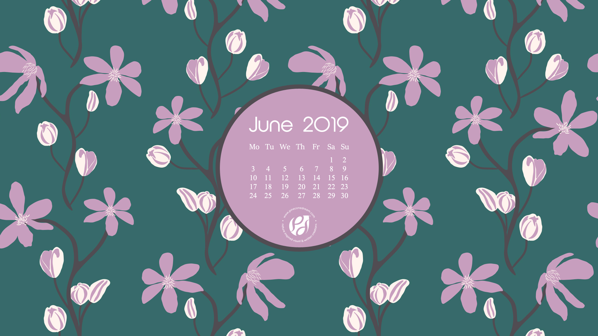 photograph regarding Printable Wallpapers called June 2019 absolutely free calendar wallpapers printable planner