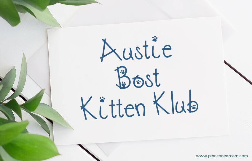 Austie Bost Kitten Klub fonts