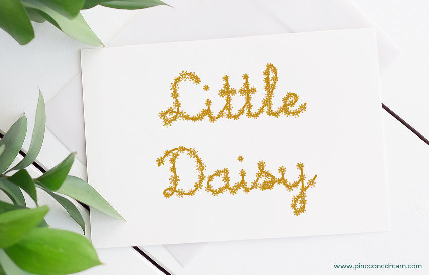 Little daisy fonts