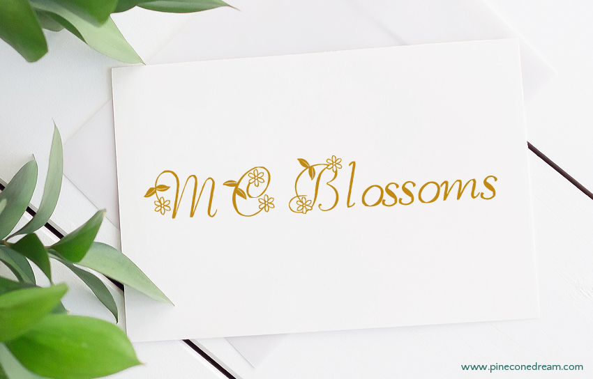 MC Blossoms fonts