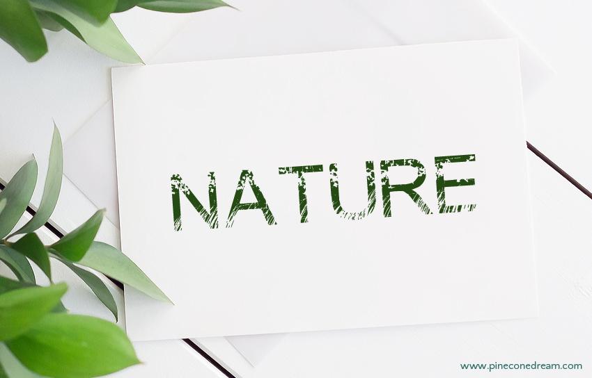 Nature fonts