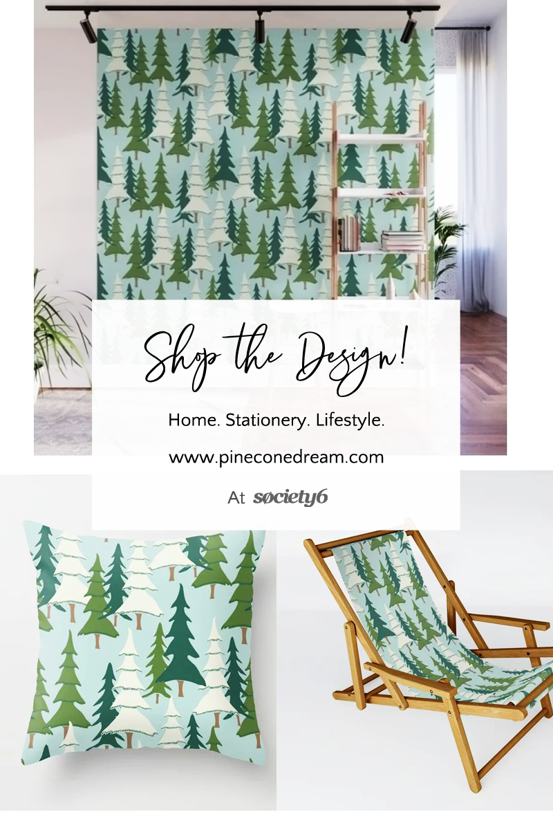 Pine forest home decor