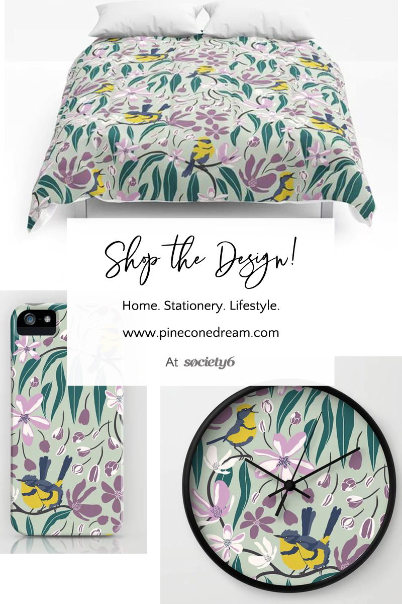 Floral home decor products