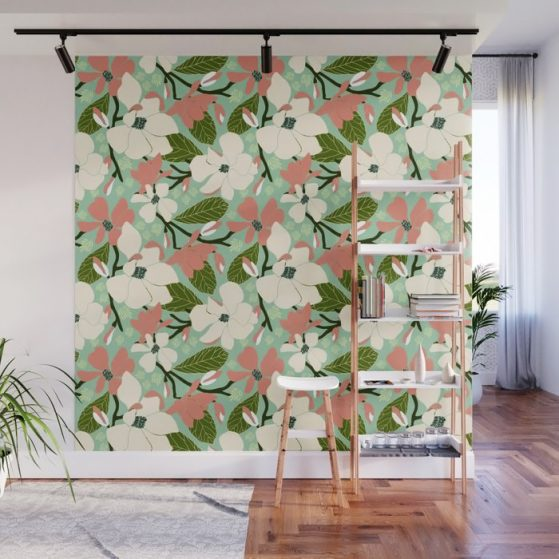 Magnolia Joy Wall Mural