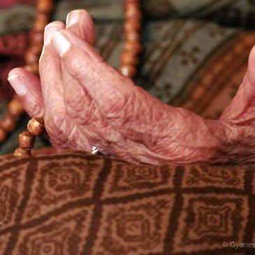 My Grandmother In Prayer – A Portrait