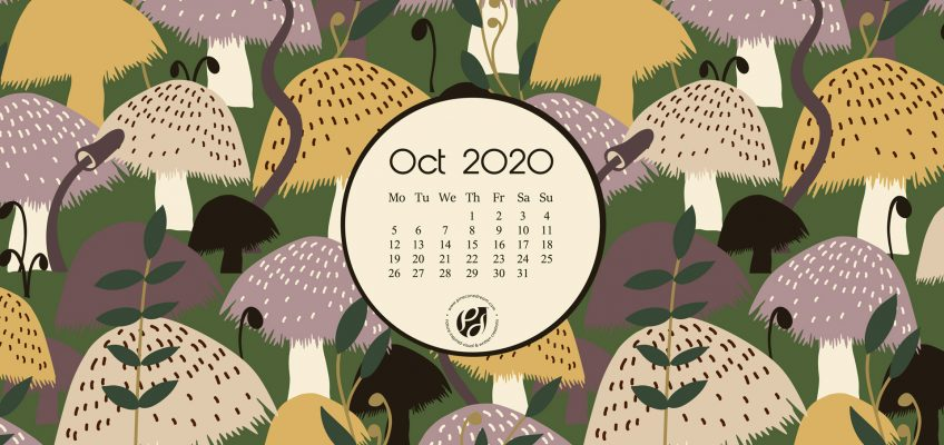 Oct 2020 Desktop Wallpaper