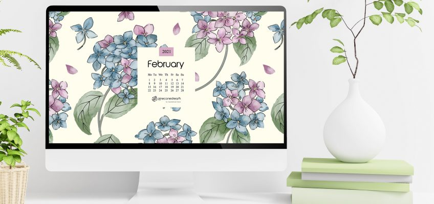 February 2021 Desktop Wallpaper