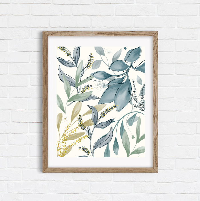 Winter Hues - Shop Art Print