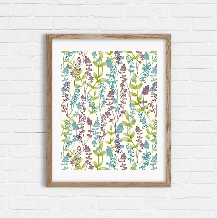Meadow Wildflowers - Shop Art Print