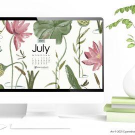 July 2021 Desktop Wallpaper